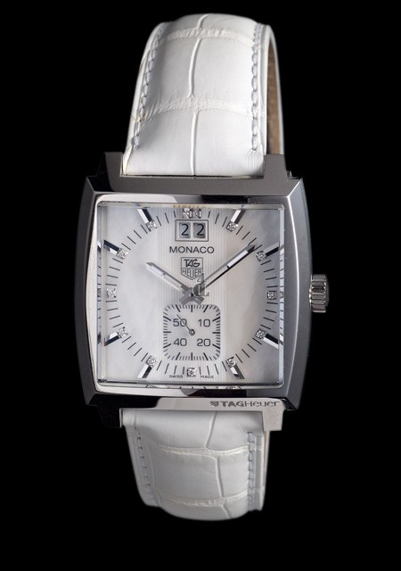 Replica TAG Heuer Monaco Big Date Lady watch WAW1318.FC6247