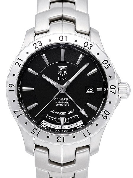 Replica TAG Heuer Link Calibre 7 GMT Automatic Watch WJ2010.BA0591