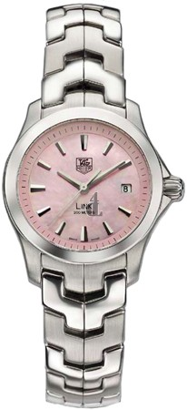 Replica Tag Heuer Pink Mother-of-Pearl Link Ladies Watch WJF1312.BA0573