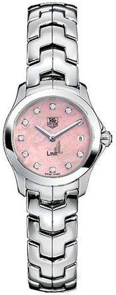 Replica Tag Heuer Link Diamond Pink Mother-of-Pearl Ladies watch WJF1415.BA0589