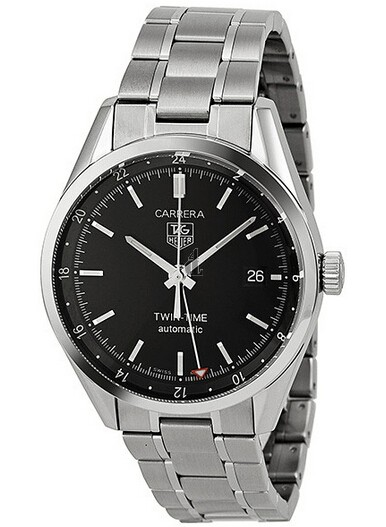 Replica Tag Heuer Carrera Calibr 7 Twin Time Mens Watch WV2115.BA0787