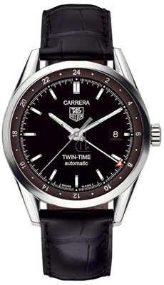 Replica Tag Heuer Carrera Calibr 7 Twin Time Mens Watch WV2115.FC6180