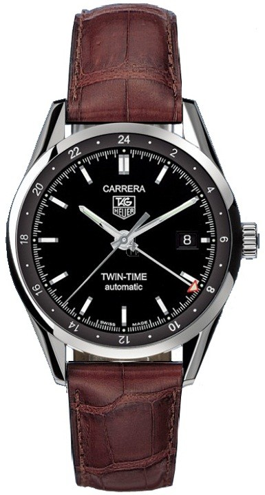 Replica Tag Heuer Carrera Twin-Time Mens Watch WV2115.FC6181