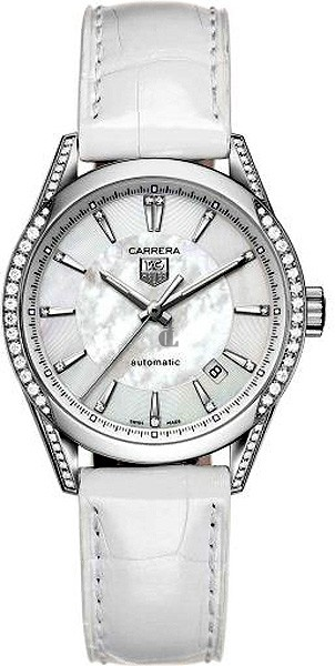Replica TAG Heuer Carrera Mother-Of-Pearl Dial Diamond Watch  WV2212.FC6264