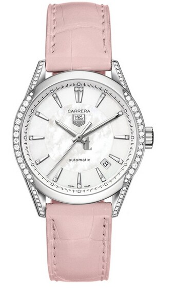 Replica Tag Heuer Ladies Carerra  Calibre 5 Watch WV2212.FC6295