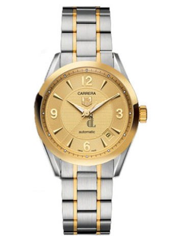 Replica Tag Heuer Carrera 18kt Yellow Gold And Steel Mens Watch WV2251.BD0791
