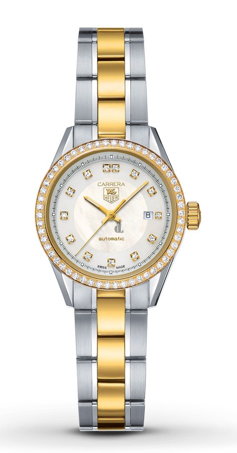 Replica Tag Heuer Carrera Automatic Ladies Diamonds Watch  WV2451.BD0797