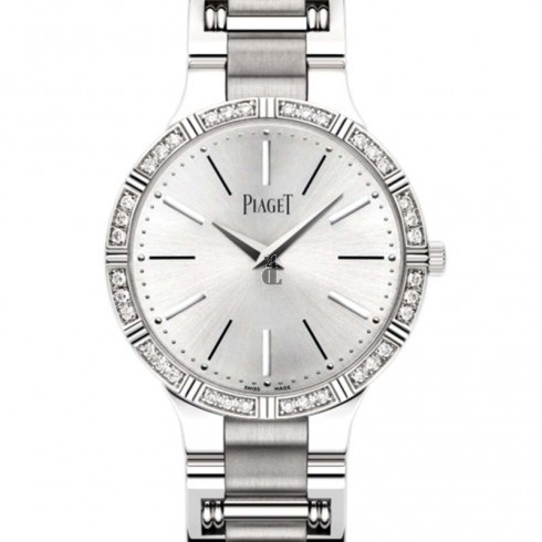 Piaget Dancer White Gold Bracelet Diamond Ladies Replica Watch G0A38052