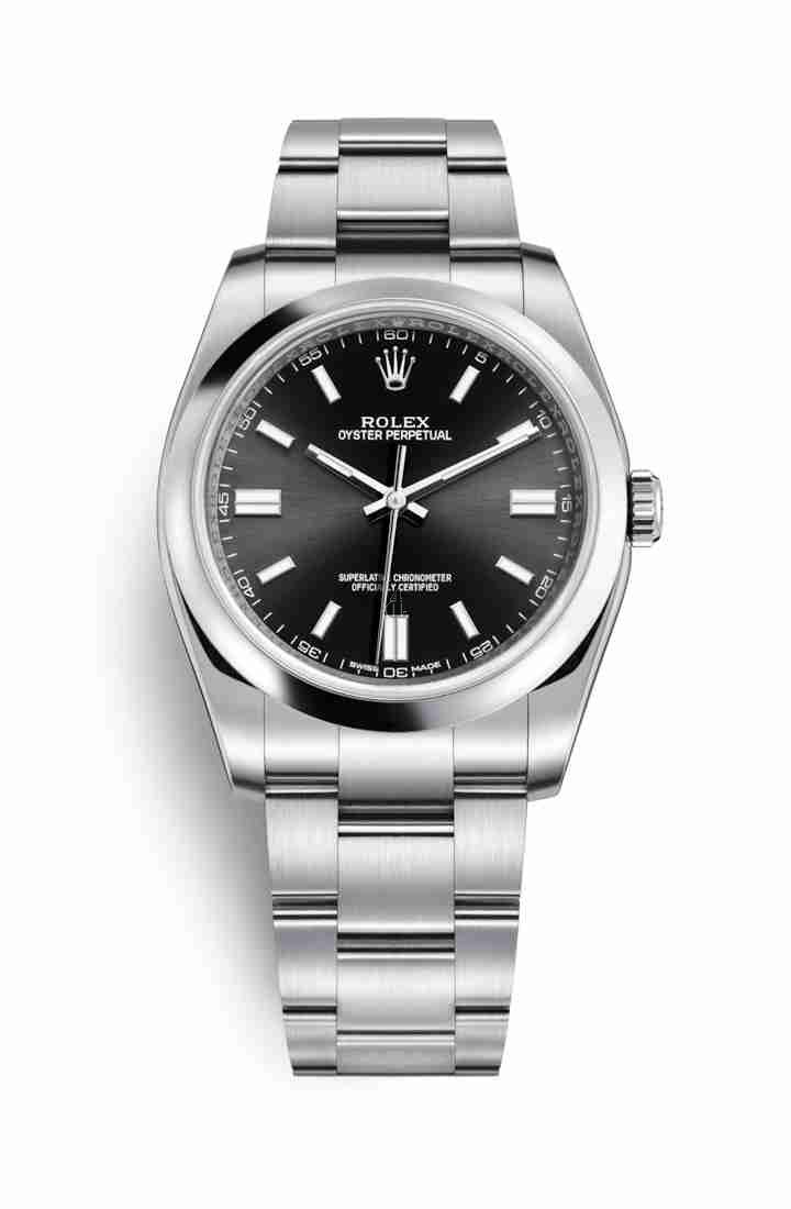 Rolex Oyster Perpetual 36 Oystersteel 116000 Black Dial