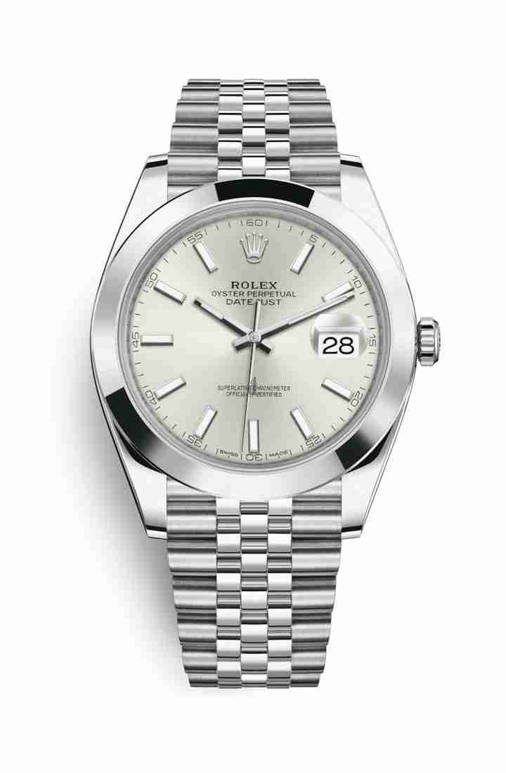 Rolex Datejust 41 Oystersteel 126300 Silver Dial