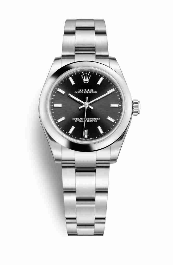 Rolex Oyster Perpetual 31 Oystersteel 177200 Black Dial