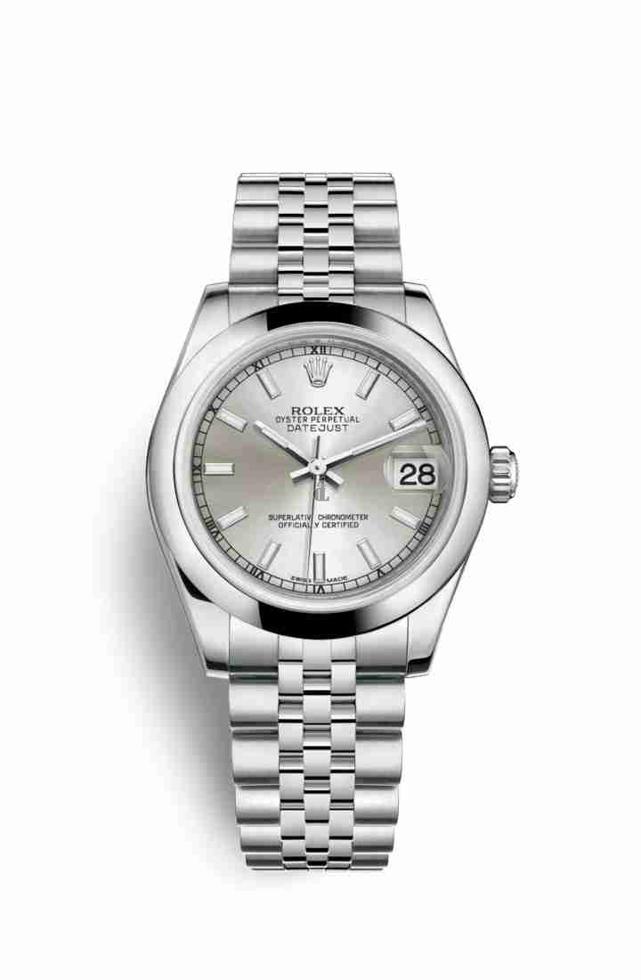 Rolex Datejust 31 Oystersteel 178240 Silver Dial