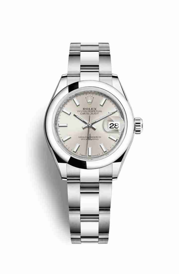 Rolex Datejust 28 Oystersteel 279160 Silver Dial