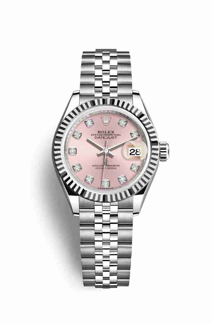 Rolex Datejust 28mm white gold 279174