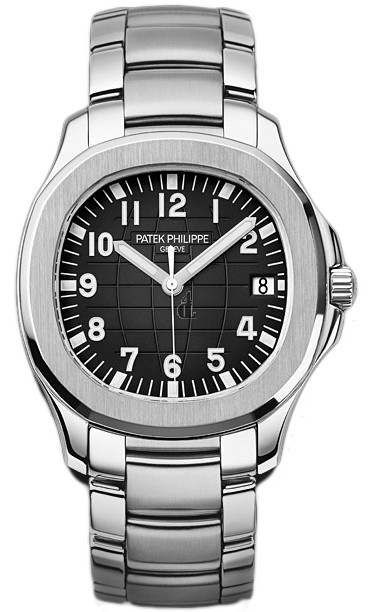 Fake Patek Philippe Aquanaut Black Dial Stainless Steel Automatic Men's Watch 5167-1A