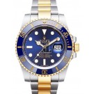 Replica Rolex Submariner Steel and Gold Blue Dial 116613LB.
