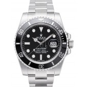Fake Rolex Submariner Date Black Dial 116610LN.