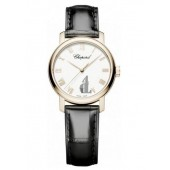 Imitation Chopard Men's Classic 18-Karat Rose Gold Watch