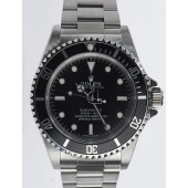 Fake Rolex Submariner No Date Stainless Steel Black Dial 14060M.