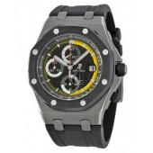 Replica Audemars Piguet Royal Oak Offshore Black Dial Rubber Men's Watch 0