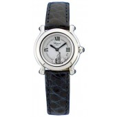 Imitation Chopard Happy Sport Stainless Steel Mini Ladies Watch