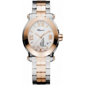 Imitation Chopard Happy Sport Oval Quartz Ladies Watch
