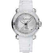 Imitation Chopard Happy Sport Round Quartz 36mm Ladies Watch