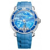 Imitation Chopard Happy Sport XL Blue Lake Ladies Watch