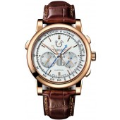 A. Lange & Sohne Lange Double Split Mens 404.032 imitation
