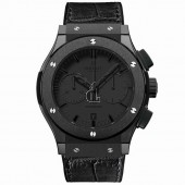 Hublot Classic Fusion 45MM All Black Watch 521.CM.1110.LR replica.