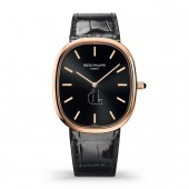 Patek Philippe Golden Ellipse 5738 Rose Gold / Black 5738R-001