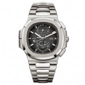 Patek Philippe Nautilus Travel Time Chronograph Stainless Steel Automatic 5990/1A-001