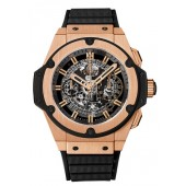 Hublot King Power Unico King Gold Chronograph 701.OX.0180.RX replica.