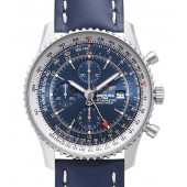 Breitling Navitimer World Blue Dial Watch A2432212.C651.101X.A20BA.1  replica.