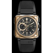 Bell & Ross BR-X1 ROSE GOLD & CERAMIC Replica watch