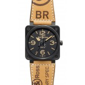 Heritage Bell & Ross Automatic 46mm Mens Watch BR 01-92 HERITAGE fake