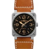 Golden Heritage Bell & Ross Automatic 42mm Mens Watch BR 03-92 GOLDEN HERITAGE fake