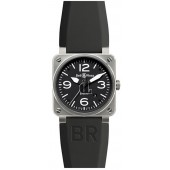 Steel Bell & Ross BR Mens Automatic Watch BR 03-92 NEW STEEL fake
