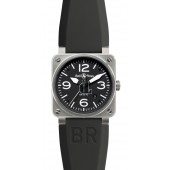 Steel Bell & Ross Automatic 42mm Mens Watch BR 03-92 STEEL fake