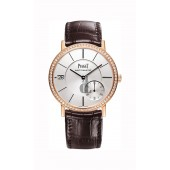 Piaget Altiplano Silver Dial 18K Rose Gold Diamond Men's G0A38139