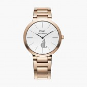 Piaget Altiplano White Dial 18K Rose Gold Automatic Ladies G0A40105