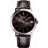 Piaget Altiplano Grey Dial Automatic Men's Alligator Leather G0A42050