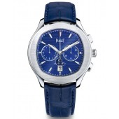 Piaget Polo S Chronograph Automatic Blue Dial Men's Watch G0A43002 replica