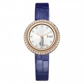 Piaget Possession Diamond Silver Dial Ladies 18K Rose Gold Watch G0A43082 replica