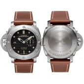 Fake Panerai Luminor Submersible 1950 Left-Handed 3 Days Automatic Titanio PAM00569