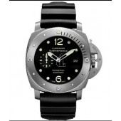 Fake Panerai Luminor Submersible 1950 3 Days Automatic Titanium PAM00571