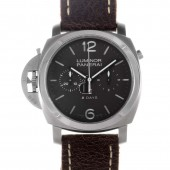 Fake Panerai Luminor 1950 Chrono Monopulsante Right-Handed 8 Days Titanio PAM 00345
