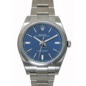 Fake Rolex Oyster Perpetual 39mm 114300 Blue Dial