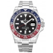 Fake Rolex GMT-Master II White Gold Watch 116719 BLRO