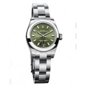 Fake Rolex Oyster Perpetual 26 176200 Green Dial